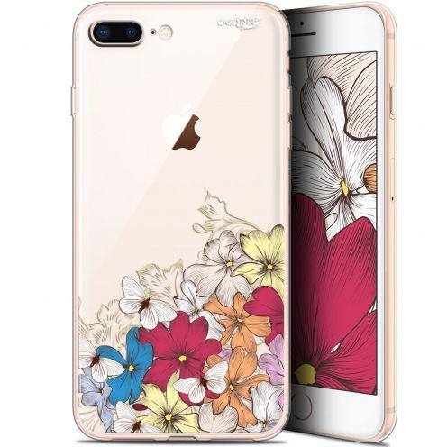 "Coque Gel Apple iPhone 7/8 Plus (4.7"") Extra Fine Motif -  Nuage Floral"