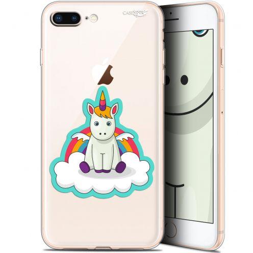 "Coque Gel Apple iPhone 7/8 Plus (4.7"") Extra Fine Motif -  Bébé Licorne"