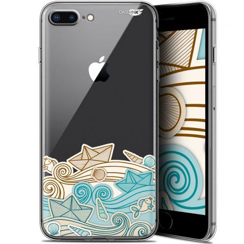 "Coque Gel Apple iPhone 7/8 Plus (4.7"") Extra Fine Motif - Bateau de Papier"