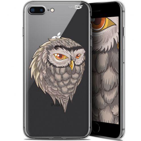 "Coque Gel Apple iPhone 7/8 Plus (4.7"") Extra Fine Motif -  Hibou Draw"