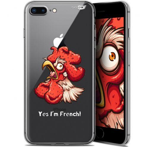 "Coque Gel Apple iPhone 7/8 Plus (4.7"") Extra Fine Motif -  I'm French Coq"