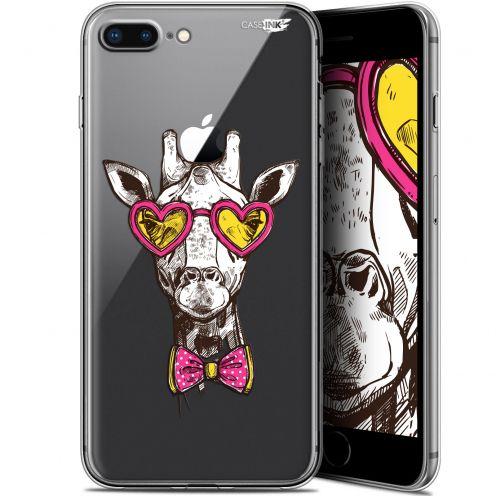 "Coque Gel Apple iPhone 7/8 Plus (4.7"") Extra Fine Motif - Hipster Giraffe"
