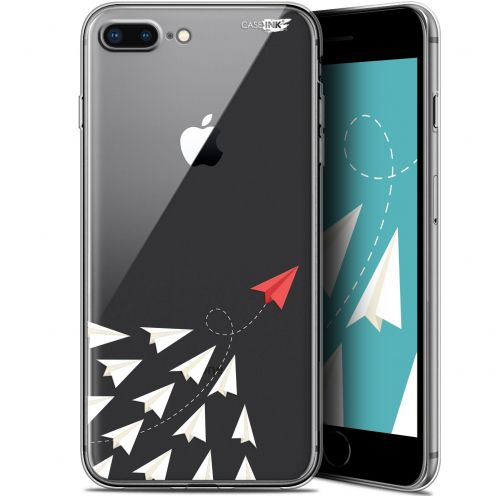 """Coque Gel Apple iPhone 7/8 Plus (4.7"""") Extra Fine Motif -  Papier Volant"""