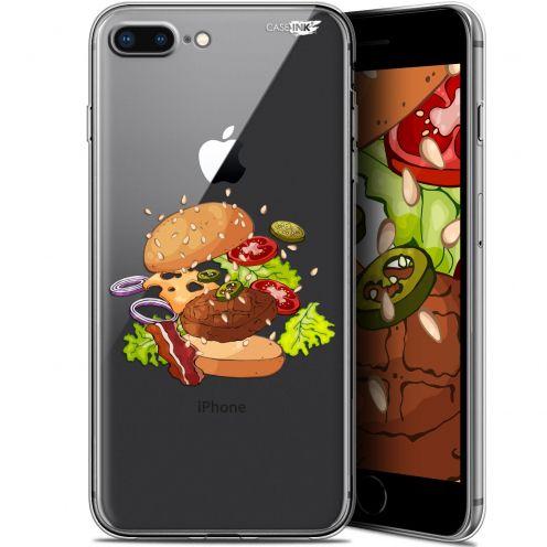 """Coque Gel Apple iPhone 7/8 Plus (4.7"""") Extra Fine Motif -  Splash Burger"""