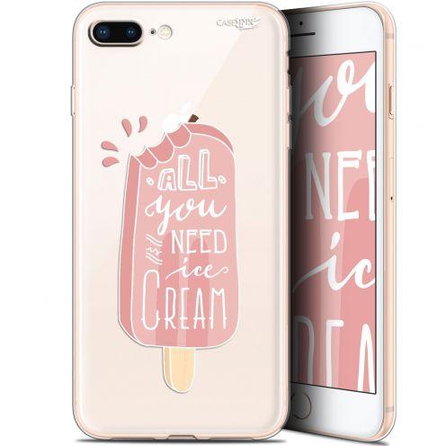 """Coque Gel Apple iPhone 7/8 Plus (4.7"""") Extra Fine Motif -  Ice Cream"""