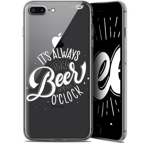 "Coque Gel Apple iPhone 7/8 Plus (4.7"") Extra Fine Motif -  Its Beer O'Clock"