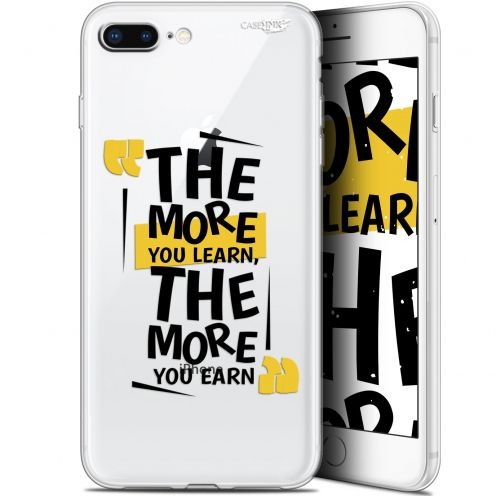 """Coque Gel Apple iPhone 7/8 Plus (4.7"""") Extra Fine Motif -  The More You Learn"""