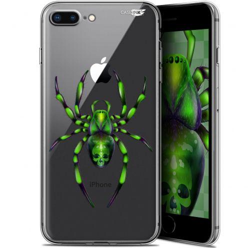 """Coque Gel Apple iPhone 7/8 Plus (4.7"""") Extra Fine Motif -  Arraignée Verte"""