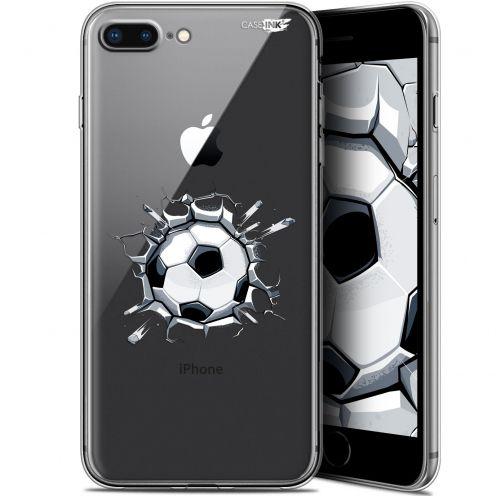 "Coque Gel Apple iPhone 7/8 Plus (4.7"") Extra Fine Motif -  Le Balon de Foot"
