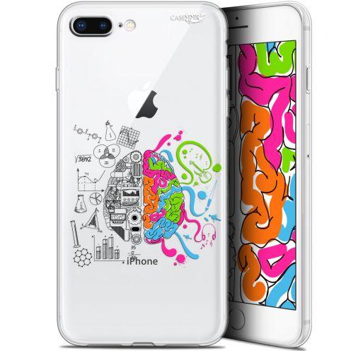 "Coque Gel Apple iPhone 7/8 Plus (4.7"") Extra Fine Motif - Le Cerveau"