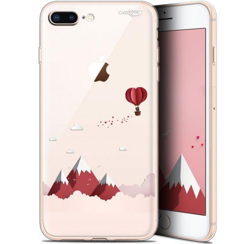 """Coque Gel Apple iPhone 7/8 Plus (4.7"""") Extra Fine Motif - Montagne En Montgolfière"""