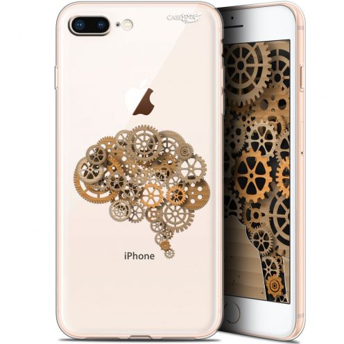 "Coque Gel Apple iPhone 7/8 Plus (4.7"") Extra Fine Motif -  Mécanismes du Cerveau"