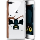 "Coque Gel Apple iPhone 7/8 Plus (4.7"") Extra Fine Motif -  Petite Chauve Souris"