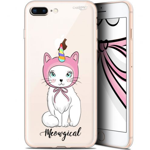 "Coque Gel Apple iPhone 7/8 Plus (4.7"") Extra Fine Motif - Ce Chat Est MEOUgical"