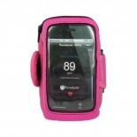 Vue détaillée de Brassard Runalyzer® iPhone 3G / iPhone 4 / 4S / Touch Rose S