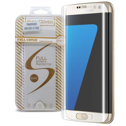 Protection d'écran Verre trempé Samsung Galaxy S7 Edge Full Cover Transparent Glitter – 9H HD 0.33mm 2.5D