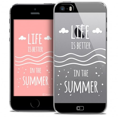 Coque Crystal iPhone SE/5/5s Extra Fine Summer - Life's Better
