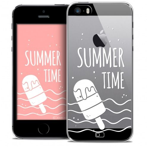 Coque Crystal iPhone SE/5/5s Extra Fine Summer - Summer Time