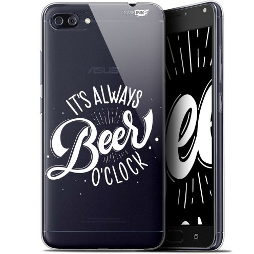 "Coque Gel Asus Zenfone 4 MAX PLUS / Pro ZC554KL (5.5"") Extra Fine Motif - Its Beer O'Clock"