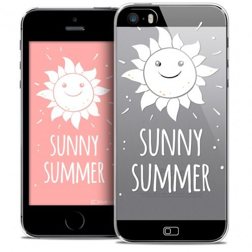 Coque Crystal iPhone SE/5/5s Extra Fine Summer - Sunny Summer