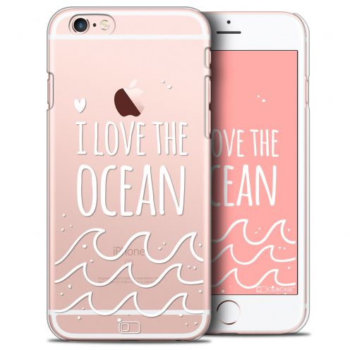 Coque Crystal iPhone 6/6s Extra Fine Summer - I Love Ocean