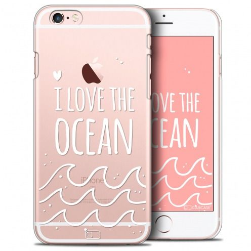 Coque Crystal iPhone 6/6s Plus Extra Fine Summer - I Love Ocean