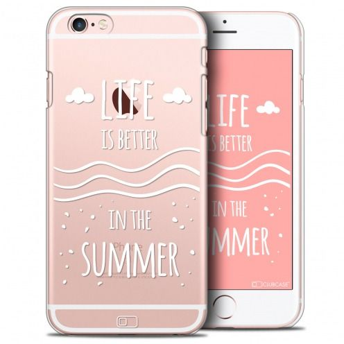 Coque Crystal iPhone 6/6s Plus Extra Fine Summer - Life's Better