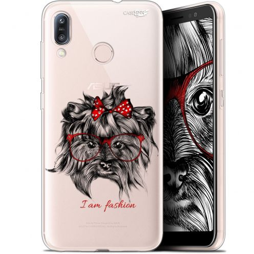 "Coque Gel Asus Zenfone Max (M1) ZB555KL (5.5"") Extra Fine Motif -  Fashion Dog"
