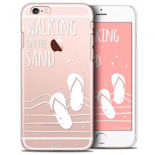 Coque Crystal iPhone 6/6s Extra Fine Summer - Walking on the Sand