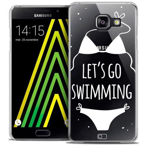Coque Crystal Galaxy A5 2016 (A510) Extra Fine Summer - Let's Go Swim