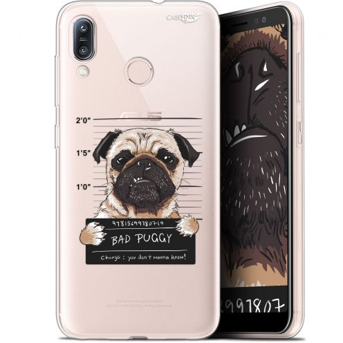 "Coque Gel Asus Zenfone Max (M1) ZB555KL (5.5"") Extra Fine Motif -  Beware The Puggy Dog"