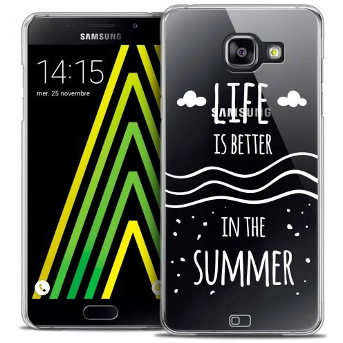Coque Crystal Galaxy A5 2016 (A510) Extra Fine Summer - Life's Better