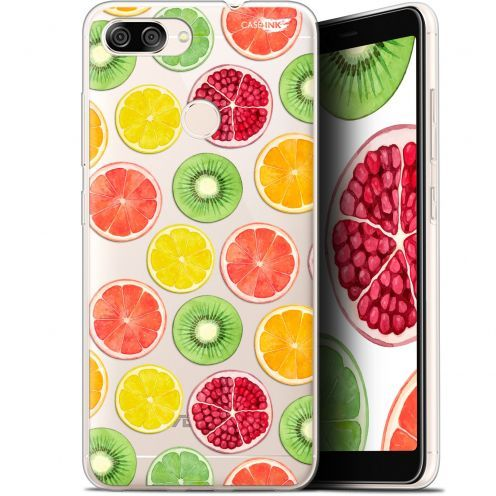 "Coque Gel Asus Zenfone Max Plus (M1) ZB570TL (5.7"") Extra Fine Motif -  Fruity Fresh"