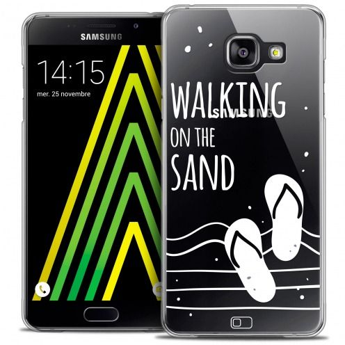 Coque Crystal Galaxy A5 2016 (A510) Extra Fine Summer - Walking on the Sand