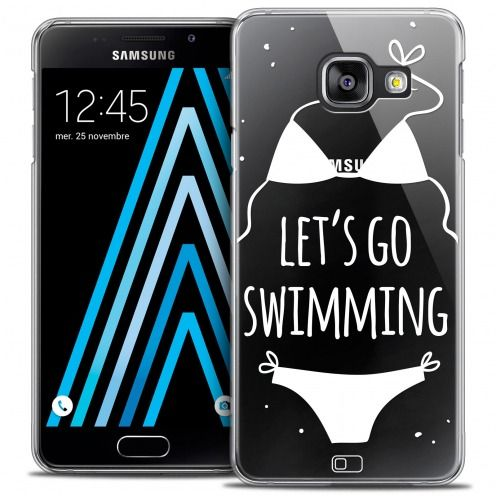 Coque Crystal Galaxy A3 2016 (A310) Extra Fine Summer - Let's Go Swim