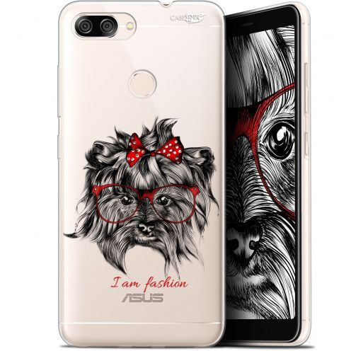"Coque Gel Asus Zenfone Max Plus (M1) ZB570TL (5.7"") Extra Fine Motif -  Fashion Dog"