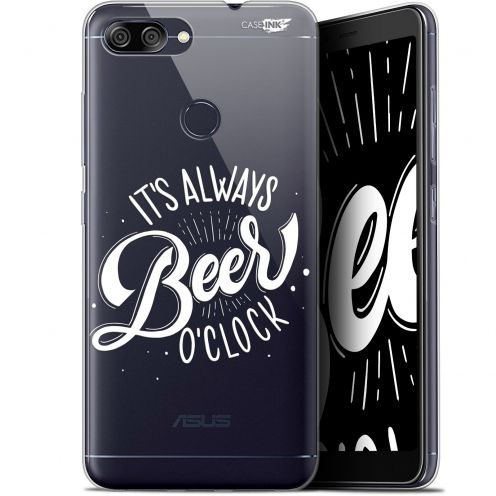 "Coque Gel Asus Zenfone Max Plus (M1) ZB570TL (5.7"") Extra Fine Motif -  Its Beer O'Clock"