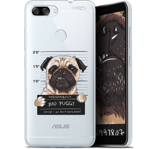 "Coque Gel Asus Zenfone Max Plus (M1) ZB570TL (5.7"") Extra Fine Motif -  Beware The Puggy Dog"