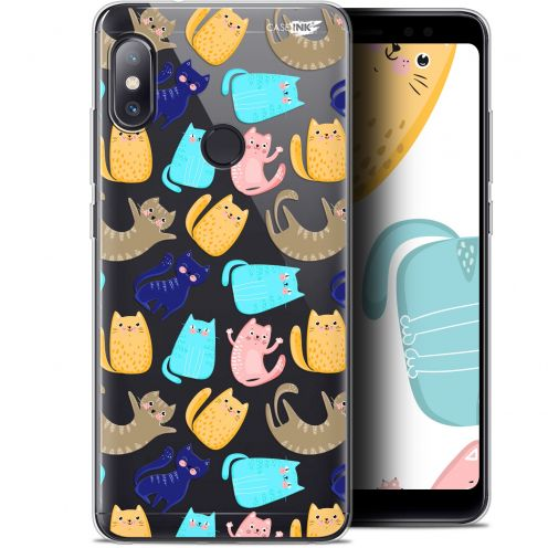 "Coque Gel Xiaomi Redmi Note 5 (5.99"") Extra Fine Motif - Chat Danse"