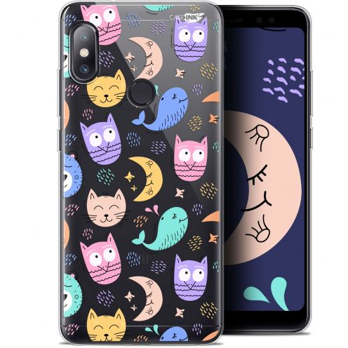 "Coque Gel Xiaomi Redmi Note 5 (5.99"") Extra Fine Motif -  Chat Hibou"