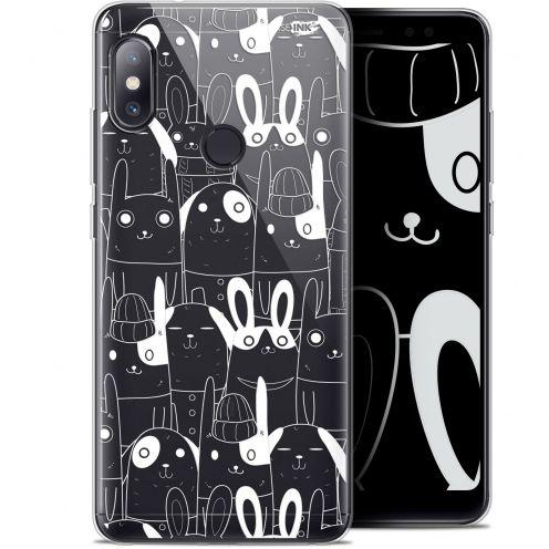 "Coque Gel Xiaomi Redmi Note 5 (5.99"") Extra Fine Motif - Lapin Blanc"