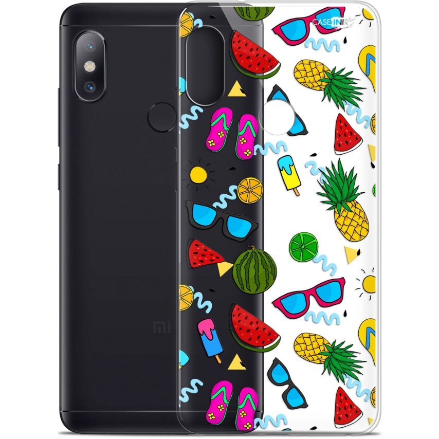 "Coque Gel Xiaomi Redmi Note 5 (5.99"") Extra Fine Motif - Summers"