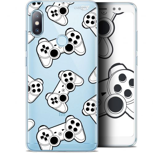 "Coque Gel Xiaomi Redmi Note 5 (5.99"") Extra Fine Motif -  Game Play Joysticks"
