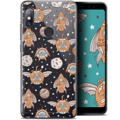 "Coque Gel Xiaomi Redmi Note 5 (5.99"") Extra Fine Motif -  Punk Space"