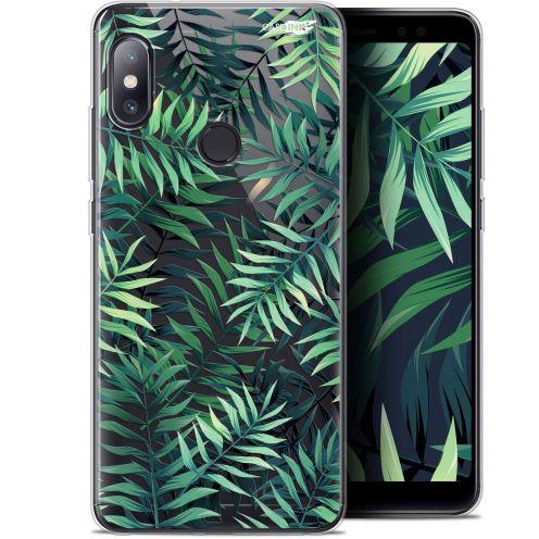 """Coque Gel Xiaomi Redmi Note 5 (5.99"""") Extra Fine Motif - Feuilles des Tropiques"""