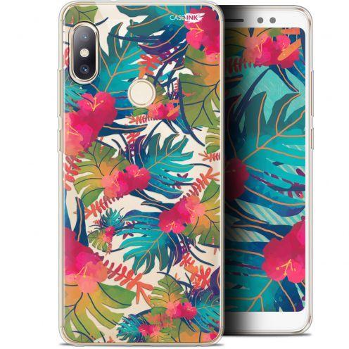 "Coque Gel Xiaomi Redmi Note 5 (5.99"") Extra Fine Motif - Couleurs des Tropiques"