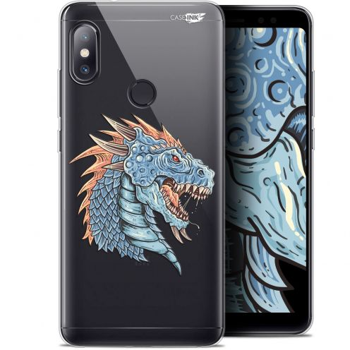 "Coque Gel Xiaomi Redmi Note 5 (5.99"") Extra Fine Motif - Dragon Draw"