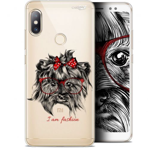 "Coque Gel Xiaomi Redmi Note 5 (5.99"") Extra Fine Motif -  Fashion Dog"