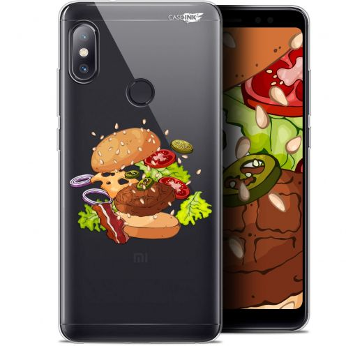 "Coque Gel Xiaomi Redmi Note 5 (5.99"") Extra Fine Motif -  Splash Burger"