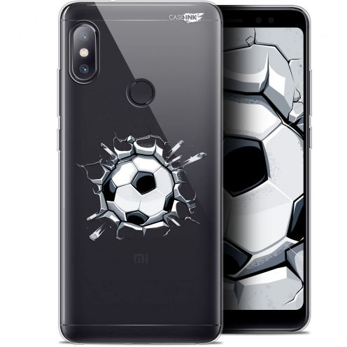 "Coque Gel Xiaomi Redmi Note 5 (5.99"") Extra Fine Motif -  Le Balon de Foot"